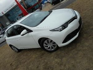 2015 Toyota Corolla ZRE182R MY15 Ascent White 7 Speed CVT Auto Sequential Hatchback Belconnen Belconnen Area Preview