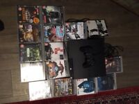 PlayStation 3 plus 15 games, power leads. HDMI cable and 1 controller
