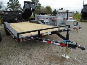 PJ BUGGY HAULER - 5 TON 7 X 20' BED -YOUR LOWEST CANADIAN PRICE London Ontario image 8