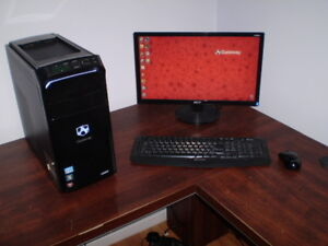 I5 QC CPU, 16GB RAM, 2TB HDD, ATI 7350 1GB, HDMI, DVD RW, WIRELE