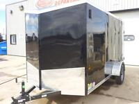 MORE FEATURES, BETTER PRICE - 2015 HAULIN 6 X 10 CARGO TRAILER