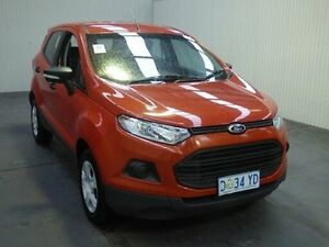 2014 Ford Ecosport BK AMBIENTE PWRSHIFT Orange Sports Automatic Dual Clutch Wagon Moonah Glenorchy Area Preview