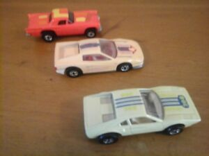 3 Hot Wheels 1977 & 1986 Toy Cars