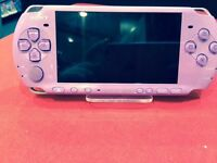 PSP 3000 LILAC WITH 12 MONTH WARRANTY THAT COVERS PSP AND CHARGER