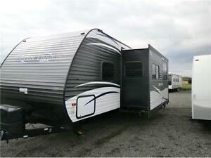 2017 ASPEN TRAIL 2890 BHS!! QUAD BUNKS, OUTDOOR KITCHEN!$26995! London Ontario image 2