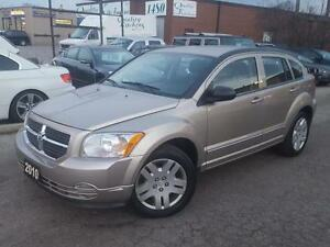 2010 DODGE CALIBER SXT  AUTOMATIC CERTIFIED