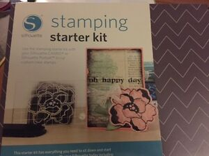 Silhouette Stamping starter kit NEW IN BOX, never used