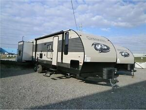 2017 FOREST RIVER CHEROKEE 304 BS LTD!! 3 SLIDES/ BUNKS! $31995!