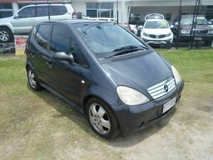 2000 Mercedes-Benz A190 W168 Avantgarde Grey 5 Speed Automatic Hatchback Kippa-ring Redcliffe Area Preview