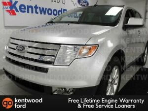 2010 Ford Edge SEL AWD with heated power tan leather seats, sunr