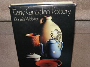 EARLY CANADIAN POTTERY -   Donald Webster