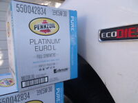 Pennzoil 5w30 Platinum Euro L Synthetic oil for Ram Ecodiesel