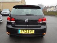 2012 Volkswagen Golf 1.6 TDi 105 BlueMotion 5dr 5 door Hatchback