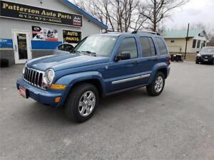 2005 Jeep Liberty Limited 4X4 147K SAFETIED