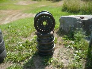 four 15 inch dodge rims $60.00