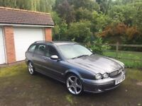 Jaguar x type estate 2.5 v6 (AWD) - Great condition with low milage