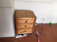 furniture clearance night stand; wood box toys; TV stand; student desk; toys; under stairs storage