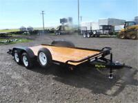 7K - 7 x 16 Flatbed Car Hauler by Big Tex *SPARE TIRE INCLUDED!*