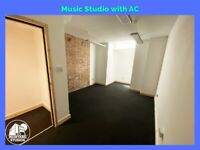 E8 | Airconditioned MUSIC/FILM Recording STUDIO| Soundproof |Creative Space| Artist |Hackney Central