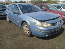 renault laguna 2005 1.9 dci breaking for spares