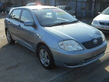 2003 Toyota Corolla ZZE122R Ascent Seca Grey 4 Speed Automatic Hatchback Holroyd Parramatta Area Preview