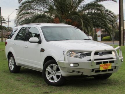 2014 Ford Territory SZ TX Seq Sport Shift White 6 Speed Sports Automatic Wagon Hendon Charles Sturt Area Preview