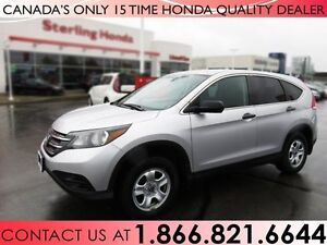 2013 Honda CR-V LX | NO ACCIDENTS | WINTER WHEELS