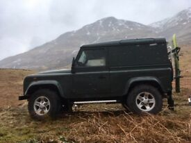Land Rover defender SWB 2008 county spec 46k miles 4seats.