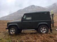 Land Rover defender SWB 2008 county spec 46k miles 4seats.