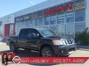 2014 Nissan Titan PRO-4X 4x4 3M Protection/Leather Interior
