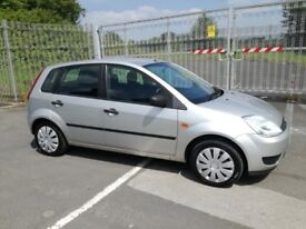 FORD FIESTA 1.4 STYLE TDCI 5DR Manual (silver) 2005