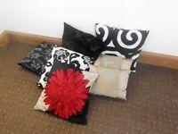 Job lot of cushions