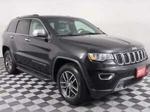 2017 Jeep Grand Cherokee w/NAVIGATION, BLINDSPOT DETECTION, HEAT