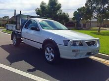 2005 Ford Falcon BA Mk II RTV Super Cab White 4 Speed Sports Automatic Cab Chassis North Brighton Holdfast Bay Preview