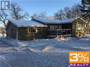 CSE//Brandon/Acreage home and double car garage ~ by 3% Realty