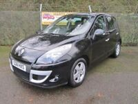 Renault Scenic 1.5 Dynamique TomTom 5dr dCi 110 Turbo Diesel Automatic (black) 2011