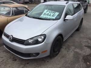 2011 Volkswagen Golf Comfortline Diesel Wagon PRICE REDUCED
