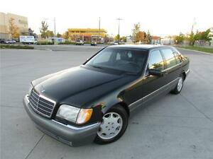 1996 MERCEDES S500 LWB *LEATHER,SUNROOF,RARE FIND!!!*