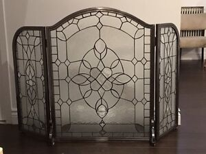 Elegant Fireplace Screen