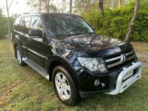 2008 Mitsubishi Pajero NS VR-X Wagon 7st 4dr Spts Auto 5sp 4x4 3.2DT Black Sports Automatic Wagon Sheldon Brisbane South East Preview