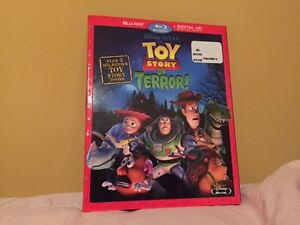 Bluray Toy Story Of Terror + 3 Toy Story Toons Disney Pixar