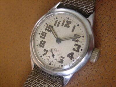World War 2 Era Waltham U.S. Military Issue Wrist Watch ...... Cal. 6/0 - B