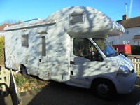 Mobilvetta Kimu 103 6-berth left hand drive NOW SOLD