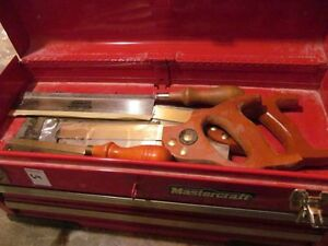 Tool Box with Chisels Online Auction Bidding Closes Thurs Mar 2