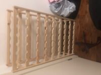 56 Bottle Wooden Wine Rack; like new