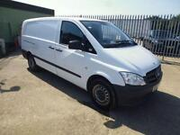 Mercedes-Benz Vito LWB 109 CDI VAN 95 PS DIESEL MANUAL WHITE (2012)