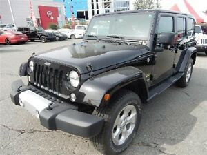 2015 JEEP WRANGLER UNLIMITED SAHARA 4x4 Convertible