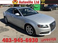 2009 AUDI A4 QUATTRO TURBO AWD $ 13488 Every one Approved