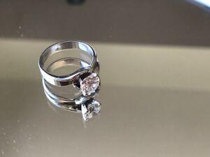 1.2 Carat Solitaire and Platinum Ladies Ring