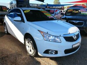 2012 Holden Cruze JH Series II MY12 Equipe White 6 Speed Sports Automatic Sedan Minchinbury Blacktown Area Preview